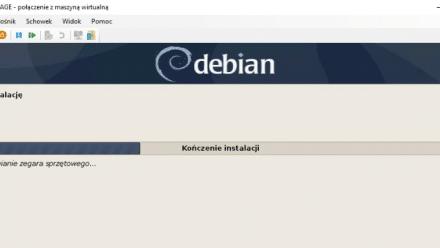 Instalacja Debiana na Hyper-V