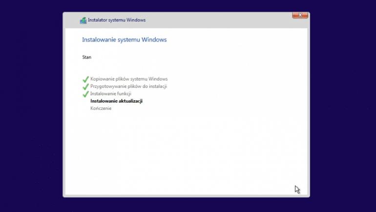 Instalacja Windows 10 na Hyper-V